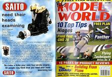RADIO CONTROL MODEL WORLD MAGAZINE 1999 APR PANTHER FREE PLAN, A10 THUNDERBOLT