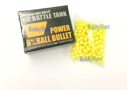 Heng Long 3818-077 6mm BB Ball Bullet Softair for 1//16 1//24 RC Tank replacement
