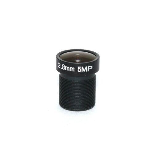 2.8MM 5MP 1//2.5 M12 IR Blocked FPV Camera Lens For 720P 1080P OWL Swift HS 1177