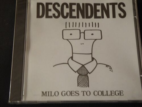 1 of 1 - Descendents - Milo Goes to College SEALED NEW CD 1993 ALL BLACK FLAG ONLY CRIME