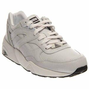 42496e8fcef Details about Puma Trinomic R698 Crackle Running Shoes - White - Mens