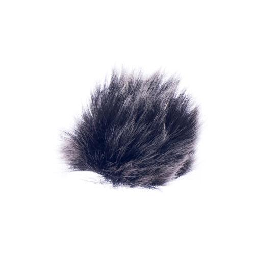 Mikrofon Windschutzscheibe Für Mikrofon Fell-Windschutz 0.5cm Schwarz