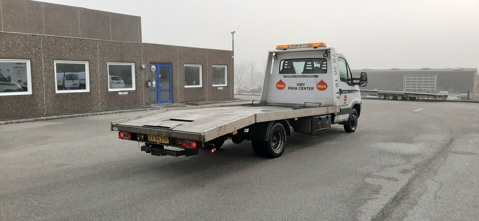 Iveco Daily 3,0 35C18 4100mm Lad Diesel modelår 2008 Hvid km