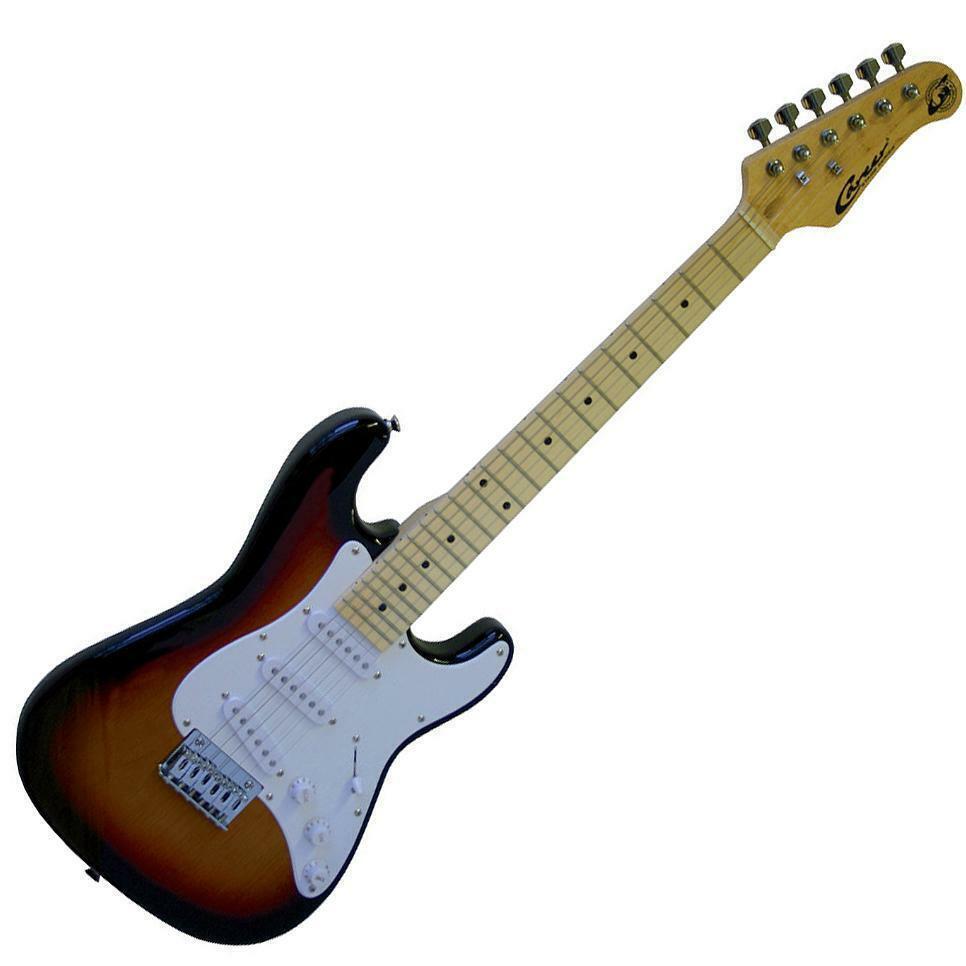 Career Stage 1 Junior E-Gitarre für Kinder Sunburst 57er Mensur