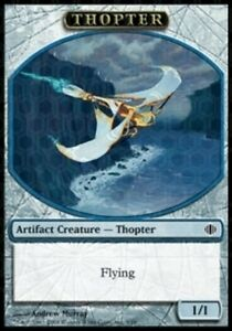 Jeton Thopter flying MRM FRENCH 4x Token Mecanoptere vol Vers 3 1//1 MTG KLD