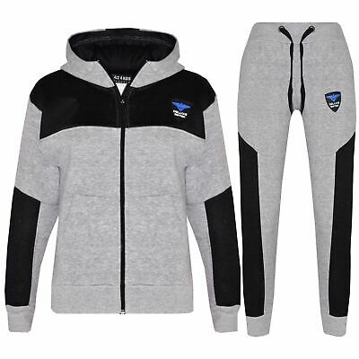 Kids Tracksuit Boys Girls NY Deluxe Edition Hoodie Bottom Jogging Suit 7-13 Yr