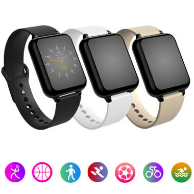 B57 Intelligent Sports Waterproof Heart Rate Activity Tracker Smart Watch