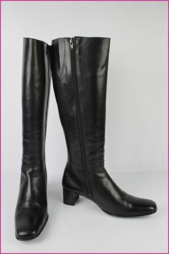 Stivali pelle in T 38 5 nera Baxxo Top Condition ppw6CqH