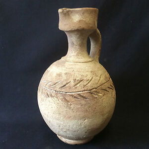 Pitcher-to-Palmette-Ceramic-Pheniciens-Carthage-Tunisia-Antique-Copy