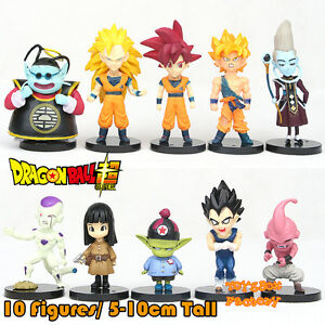 10x-Anime-Dragon-Ball-Z-DBZ-Saiyan-Son-Goku-Frieza-Vegeta-Action-Figure-Kid-Toy