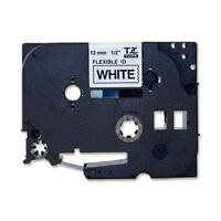 Brother Laminated Flexible Id Black On White 1/2 Inch Tape - Retail Packaging (t on sale