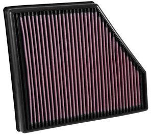 K&N 33-5047 High Flow Air Filter for Chevrolet Camaro SS 6.2 V8 2016