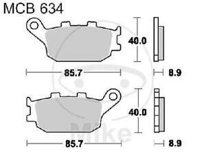 TRW-Lucas-Bremsbelaege-MCB634SH-hinten-Suzuki-GSX-1250-FA-ABS