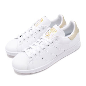 adidas-Originals-Stan-Smith-W-White-Gold-Women-Casual-Shoes-Sneakers-EE8836