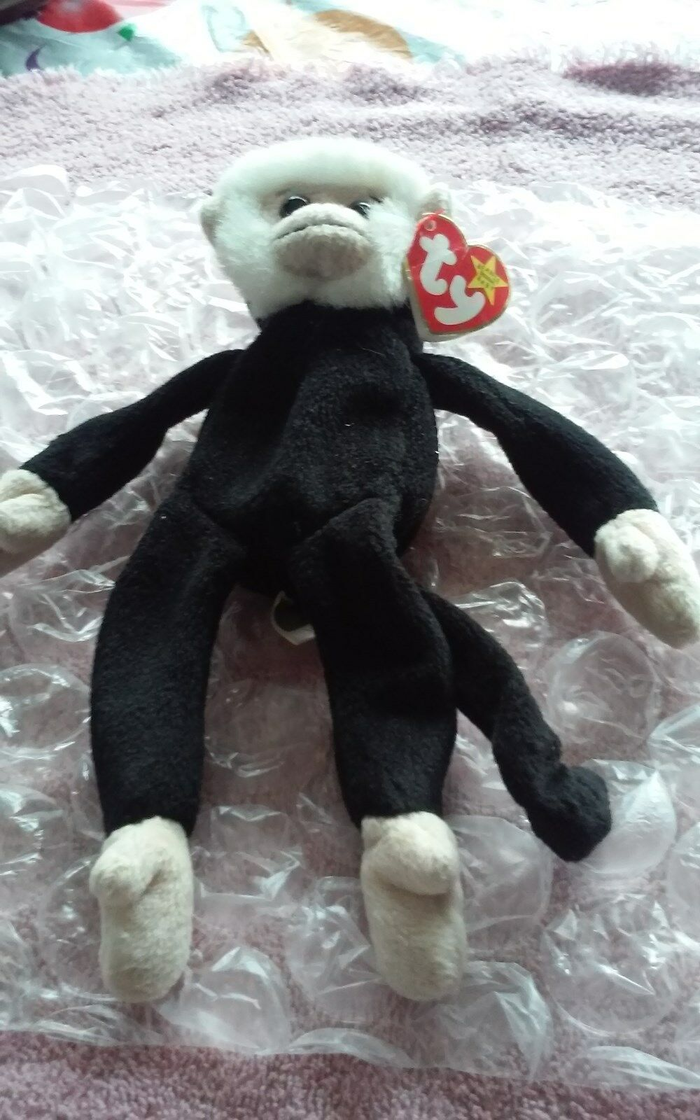 Ty Beanie baby Mooch, with tag error's