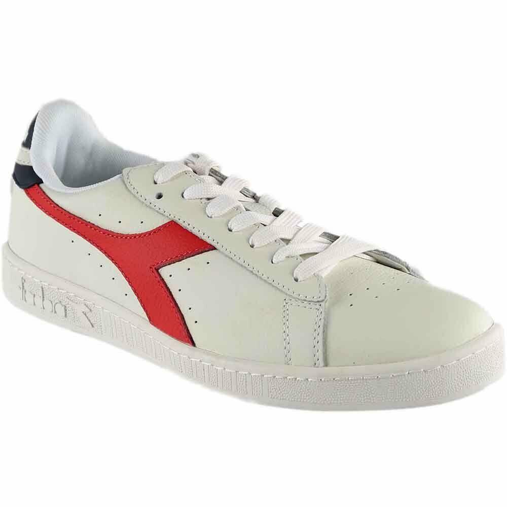 Diadora Game L Low Waxed Sneakers - White - Mens