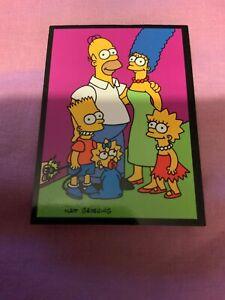 Skybox The Simpsons Glow In The Dark Happy Card Uk Seller Ebay