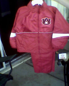 Auburn Fighting Tigers Toddler Jacket Pants NWT 2T 3T 4T NWT Wind Suit Jersey