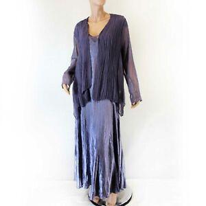 Komarov Woman Nordstrom Plus Size Dress Pleated Pale Purple ...