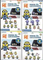 Car Sticker Kits Minions 4 Sets-- U Choose Decorate Your Car Us Fast Ship