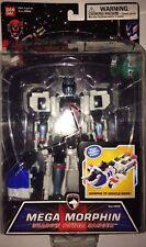 "Rare SHADOW Power Rangers 6"" Mega Morphin SPD Figure Robot Vehicle Ranger 3 mode"
