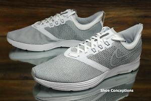 Nike Zoom Strike White Grey AJ0189-100 Running Shoes Men's - Multi Size