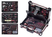 KRAFTWERK 3944 Profi Alu Werkzeugkoffer ALUPro 123 tlg. Werkzeug EVA Einlagen