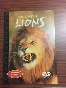 Living-With-Lions-Natural-Killers-Predators-Close-Up-DVD-And-Accompaning-Book