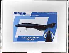 Anigrand Models 1/14 LOCKHEED SR-91 AURORA Stealth Spy Plane