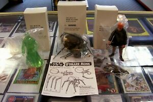 (3) Star Wars Mail Away Figures Cantina Band Spirit Obi Wan Kenobi Bohomarr Moine-afficher Le Titre D'origine