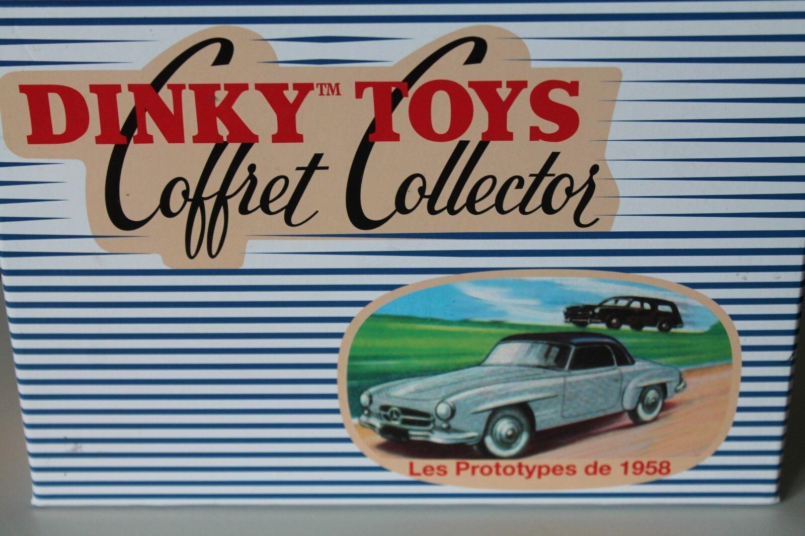 DINKY TOYS  Coffret collector  LES récupérables de 1958  Neuf dans sa boîte  Comme neuf