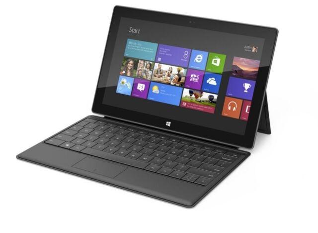 Microsoft Surface RT Nvidia Tegra 1.7ghz 2GB Ram 64GB SSD 10.6
