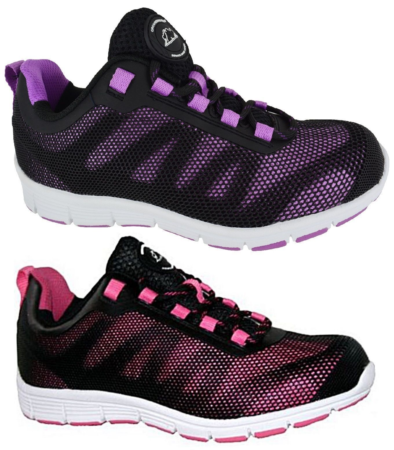 LADIES ULTRA LIGHTWEIGHT WOMENS WORK STEEL TOE CAP SAFETY SHOE TRAINERS BOOTS SZ