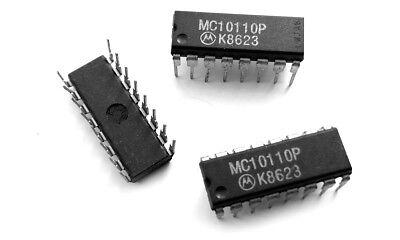 5x MC10110P by MOTOROLA 3-Input OR-Function Logic Gate Military ECL IC HD10110