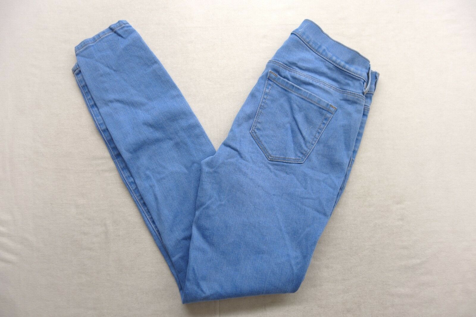New Womens Pacsun Perfect Ankle Jegging Stretch Medium bluee Denim Jeans 25 x 29