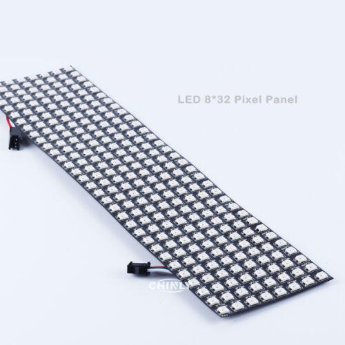8*8//16*16//8*32 pixel WS2812B Digital Flexible panel screen Individually Addressa