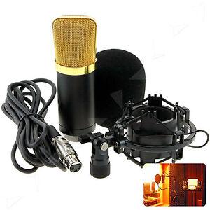 Audio-Studio-Microphone-Mic-Suspension-Boom-Scissor-w-Stand-Holder