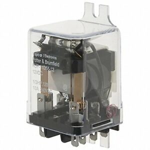 Te-Connectivity-Potter-amp-Brumfield-KUP-11D55-12-Power-Relay-DPDT-12VDC-10A-NEW
