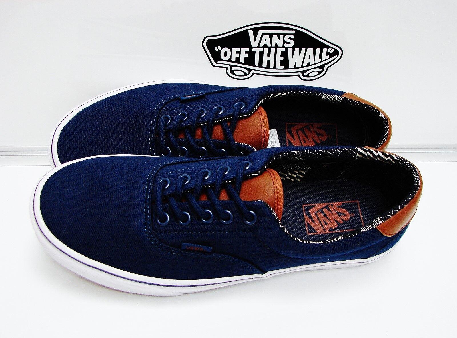 VANS ERA 59 (C&L)DRESS blueES MATERIAL VN-0A38FSMVE MEN'S SIZE  10