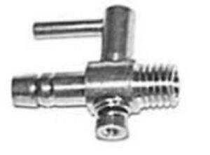 Robinet d'arrêt Régulateur en métal Régulateur d'air Distributeur d'air Réglable 1 fois 4/6 mm