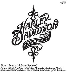 Harley Davidson Motorcycle Reflective Stickers Decals Xcm - Harley davidsons motorcycles stickers