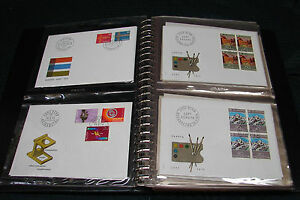 OPC Switzerland 1974-1981 65 Unaddressed FDC Collection