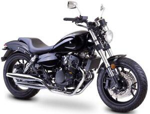 romet rcr 125 cruiser bike 125 ccm 4 takt chopper motorrad. Black Bedroom Furniture Sets. Home Design Ideas