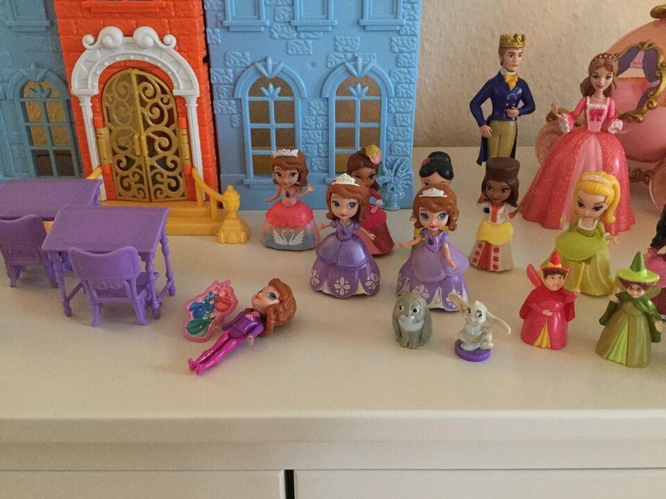 Dukkehus, Sofia slot med figurer og møbler, Prinsesse