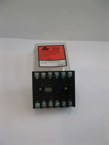 Red Lion Controls 2300200 12 Pin Relay Socket NEW