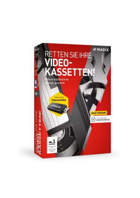 MAGIX Retten Sie Ihre Videokassetten 9 - NEU & OVP
