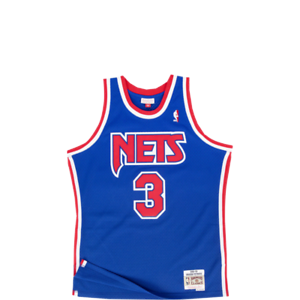Mitchell /& Ness NBA New Jersey Nets Drazen Petrovic 92-93 Swingman Jersey