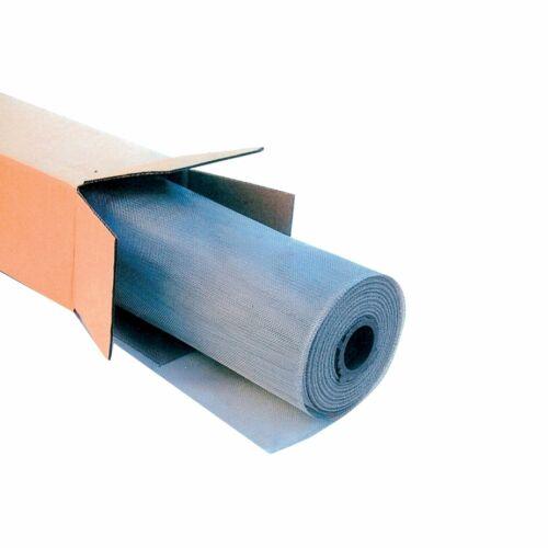 Rete in alluminio a metraggio per zanzariere e moschiere H 80 cm ricambio