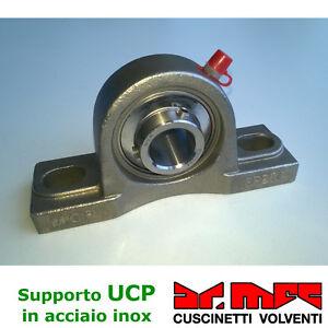 Supporto-serie-UCP-200-completo-di-cuscinetto-autoallineante-in-acciaio-inox