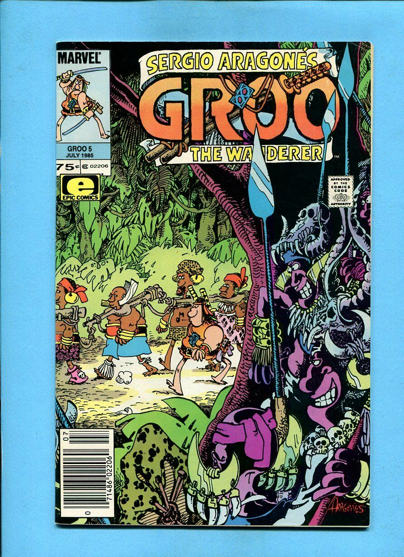 GROO THE WANDERER #10 NEAR MINT 1985 EPIC COMICS SERGIO ARAGONES